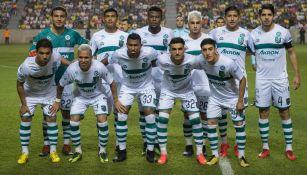 Zacatepec posa para la foto en el duelo vs América