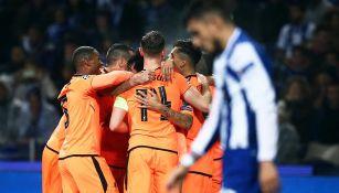 Liverpool celebra ante el lamento del Porto