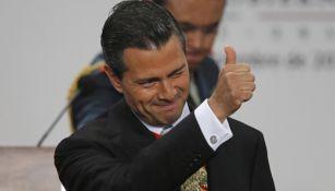 Enrique Peña Nieto, durante un evento