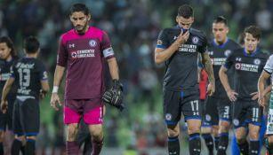 Corona y Méndez en lamento tras el juego vs Santos