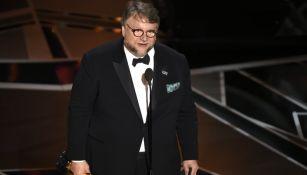 Guillermo del Toro, tras recibir el premio como Mejor Director