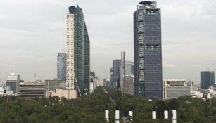 Foto panorámica de la Torre Bancomer