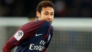 Neymar, durante un encuentro del PSG