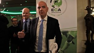 Infantino, en la Asociación Europea de Clubes