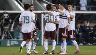 México celebra triunfo sobre Islandia