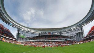 Estadio Ekaterimburgo Arena durante su inauguración