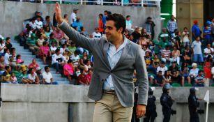 Marcelo Michel Leaño en un partido con Zacatepec