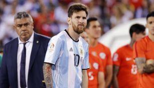 Messi, en la mento tras la Final de la Copa América Centenario 2016