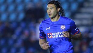 Peña disputa un duelo con Cruz Azul en el C2018