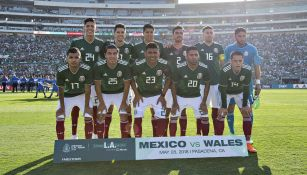 Once titular de México que enfrentó a Gales en EU