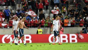 Rusia lamenta derrota frente a Austria