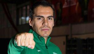 Uriel Adriano en las instalaciones del CNAR