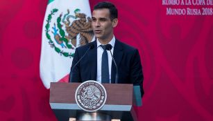 Rfa Márquez en la Residencia de los Pinos