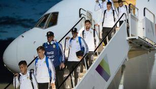 La Selección de Argentina arriba a Rusia para la Copa del Mundo