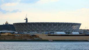 Así luce por fuera el Estadio mundialista en Volgogrado