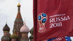 Bandera del Mundial en Rusia