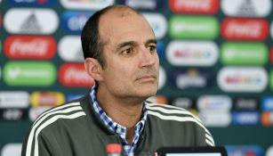 Guillermo Cantú, en conferencia de prensa