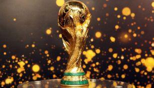 El trofeo de la Copa del Mundo de la FIFA