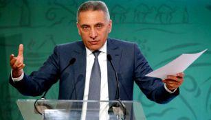 Elalamy, jefe de la candidatura de Marruecos, en conferencia de prensa