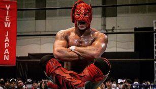 Dragon Lee en un ring de NJPW