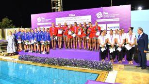 México sube al podio en la Rutina Libre por Equipos