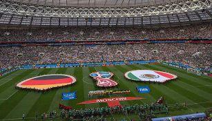 Así lució el Estadio Luzhniki para el Alemania vs México