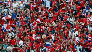 Afición de Panamá celebra en Rusia 2018