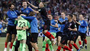 Croacia celebra su pase a Cuartos de Final