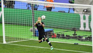 Grave error de Karius en la Final de Champions