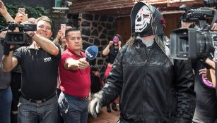 La Parka en el Media Day de Triple A
