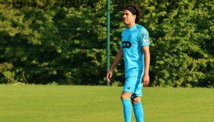 Ochoa en entrenamiento del Standard