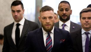 Conor McGregor, durante una conferencia de prensa