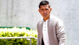 Elías Hernández durante su audiencia por la demanda que le fue interpuesta