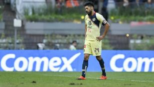 Oribe Peralta se lamenta en partido de América