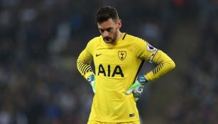 Hugo Lloris se lamenta tras derrota de Tottenham