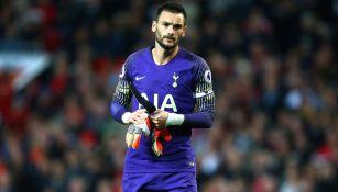 Lloris, previo a un encuentro con el Tottenham