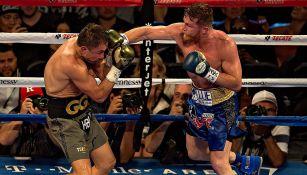Aspectos de la primera pelea entre Canelo y Golovkin