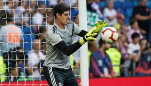 Thibaut Courtois, previo al juego entre Real Madrid y Leganés
