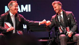 David Beckham, en presentación del nombre de su equipo