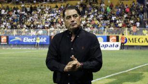 Francisco Ramírez después de un partido de Dorados