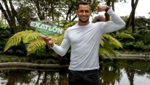 Jahir Ocampo posa para RÉCORD