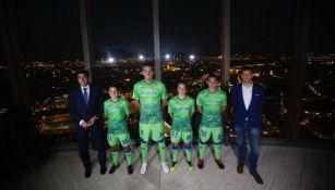 Presentación del uniforme del Real Betis