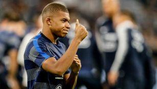 Mbappé, previo al juego entre Francia y Alemania en la Liga de Naciones