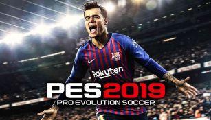 Coutinho es la imagen de portada en el nuevo PES