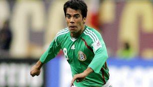 Pavel Pardo, durante juego de la Selección Mexicana