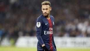 Neymar, en un juego de Liga con el París Saint-Germain