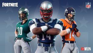 Fortnite presenta su alianza con la NFL