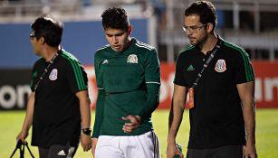 Carlos Vargas sale lesionado en el Premundial Sub 20