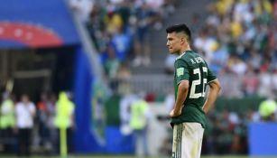 Chucky Lozano se lamenta después del partido · Chucky Lozano no jugará contra  Argentina ... 2685e5ff43153