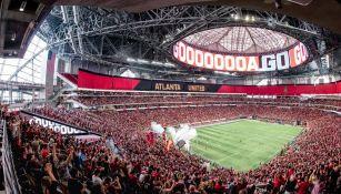 Afición del Atlanta United, previo a un duelo